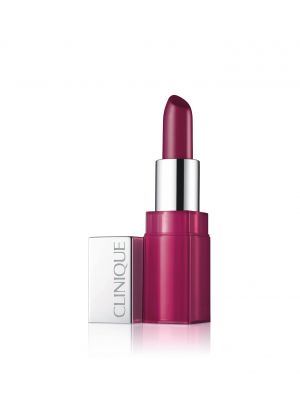 CLINIQUE POP GLAZE - ROSSETTO 2-IN-1: COLORE LUMINOSO + BASE LEVIGANTE - 09 LICORICE POP