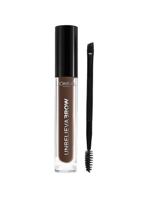 L'Oreal Paris Unbelieva brow Gel per Sopracciglia a Lunga Tenuta  Formula Waterproof No Transfer Smudge-Proof 105 Brunette