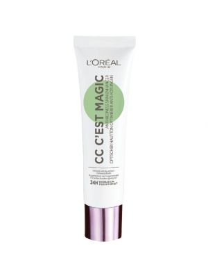 L'Oreal Paris C'est Magic CC Cream  Crema Anti-Rossori Verde