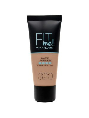 Maybelline Fit Me Matte & Poreless - Fondotinta Coprente Opacizzante 320 Natural Tan