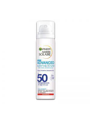 Garnier Ambra Solaire Spray Idratante Viso IP50+ 75 ml