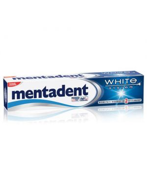 MENTADENT WHITE SYSTEM DENTIFRICIO 75ML