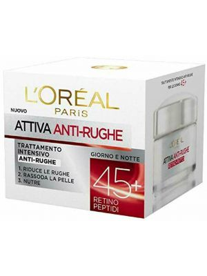 L'Oreal Paris Dermo Expertise Attiva Anti-Rughe Crema 50 ml Intensiva