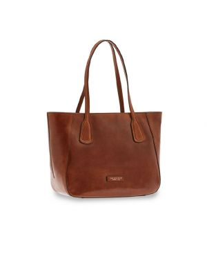 The Bridge Maddalena Shopping Bag Marrone