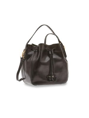 The Bridge Maddalena Bucket Bag Nero