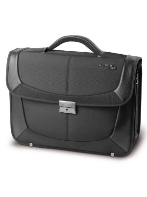 Roncato Ciak B-Smart Cartella 2 comparti con porta pc Nero