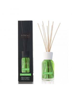 Millefiori Diffusore di Fragranza Green Fig e Iris Stick 100 ml