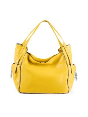 Tosca blu Bubbles Shopping bag - giallo