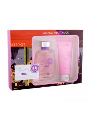MANDARINA DUCK -  LET'S TRAVEL TO PARIS FOR WOMEN Eau de Toilette 100ml + Bagnodoccia 100ml