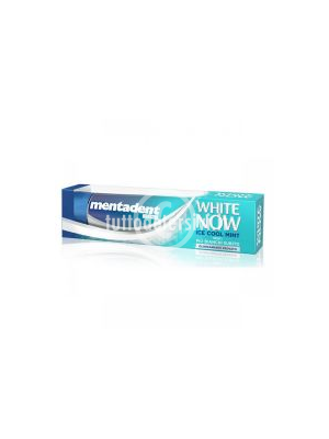 MENTADENT DENTIFRICIO WHITE NOW ICE COOL 75 ML.