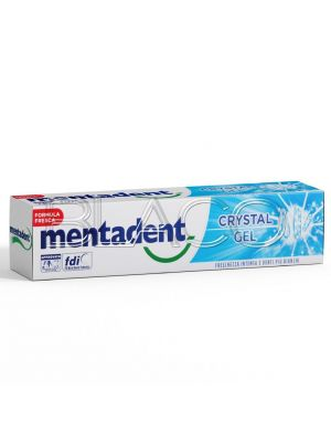 MENTADENT DENTIFRICIO CRISTAL GEL 75 ML.